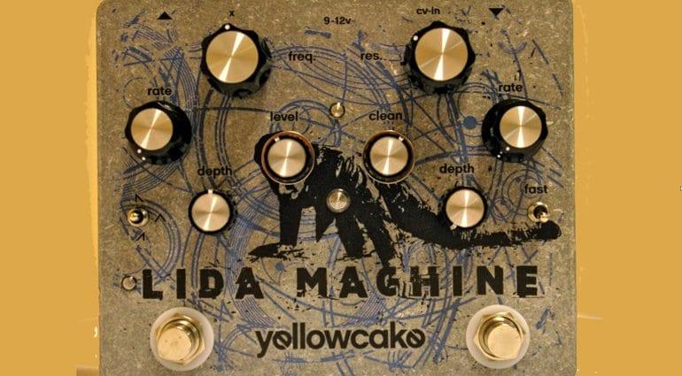 Yellowcake Lida Machine VCF pedal for guitar