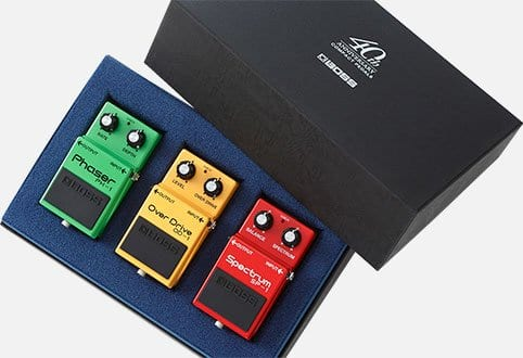 BOSS BOX-40 compact pedal anniversary set