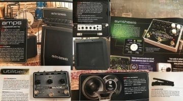Electro-Harmonic new product leaked, including SuperEgo + and Switchblade Pro, plus new amps and cabs!