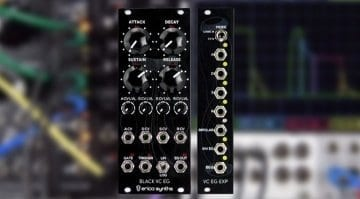 Erica Synths Black VC EG and Expander