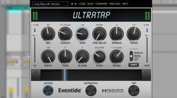 Eventide UltraTap delay plug-in