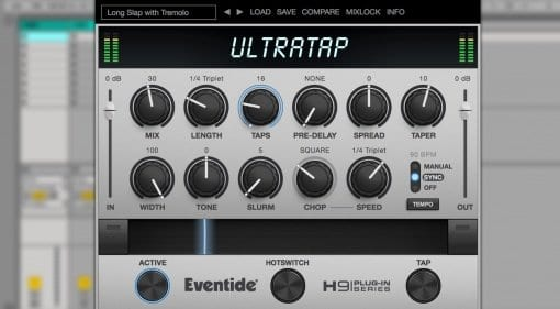 Eventide UltraTap delay plug-in