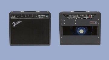 Fender '68 Custom Princeton Reverb Black & Blue FSR