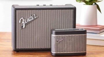 Fender Newport and Monterey Bluetooth speakers