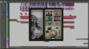 Freakshow Industries Backmask plug-in user interface