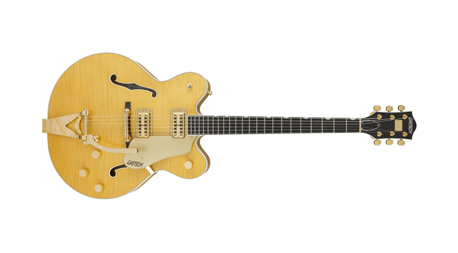 G6122TFM Players Edition Country Gentleman Hollow Body with String-Thru Bigsby Flame Maple