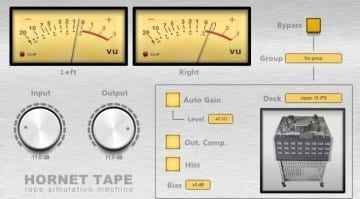 HoRNet Tape plug-in