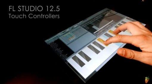 Image Line FL Studio 12.5 virtual MIDI controller