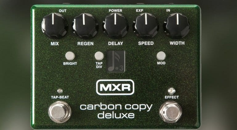 MXR Carbon Copy Deluxe delay pedal