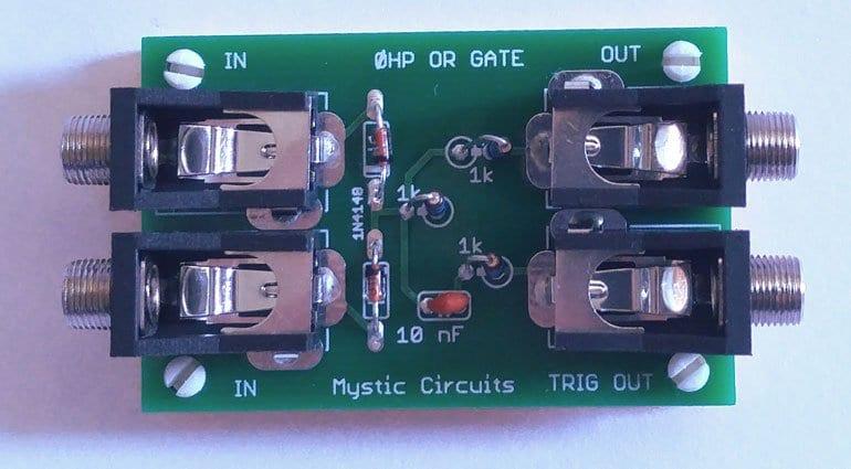 Mystic Circuits 0HP OR gate