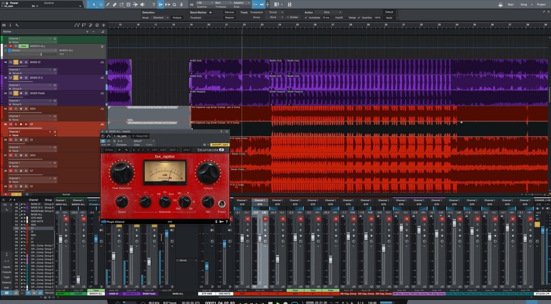 PreSonus Studio One Artist 3 DAW with Brainworx Opto