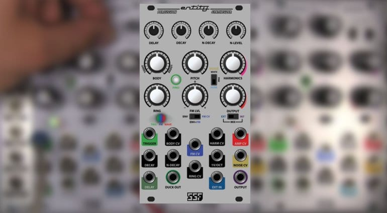 SSF Entity Percussion Synthesizer