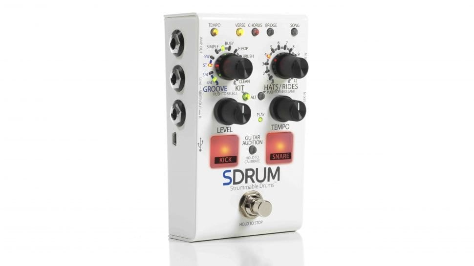 Digitech SDRUM Strummable Drum pedal