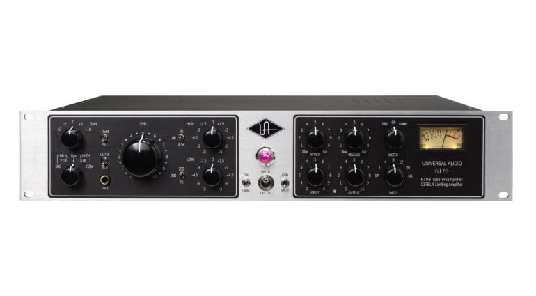 The Universal Audio 6176 channel strip