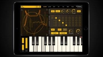 Yonac KASPAR iOS synth