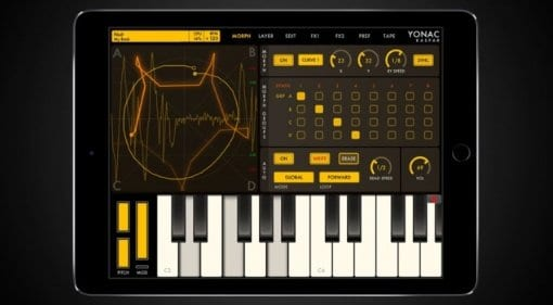 Yonac KASPAR iOS synth