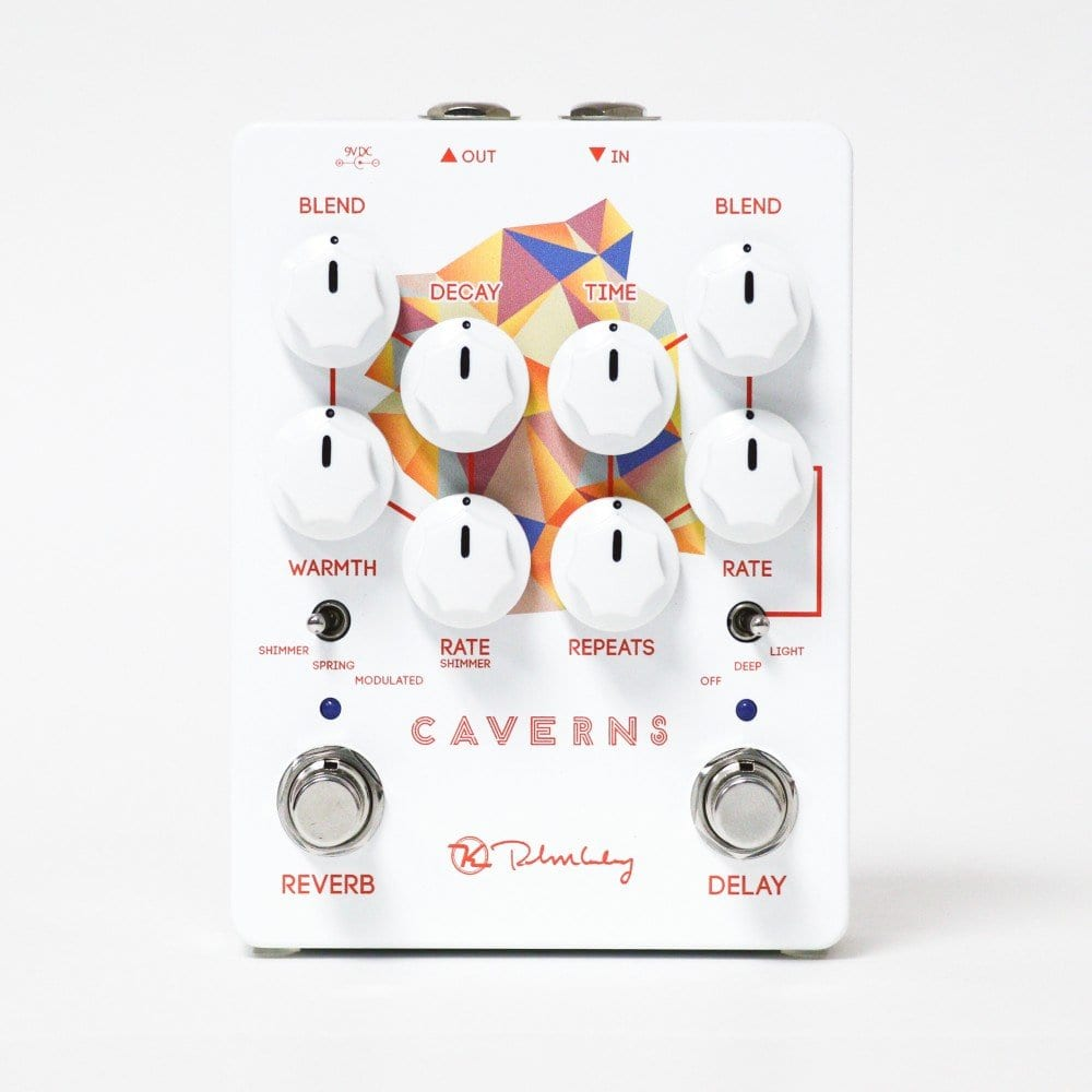Keeley Cavern pedal V2 delay