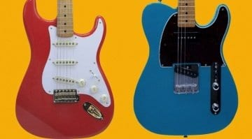 Fender limited run '50s FSR Stratocaster and P-90-equipped Telecaster