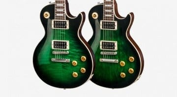 Gibson Slash Anaconda Flame Top and Plain Top Les Paul Signature models 2017