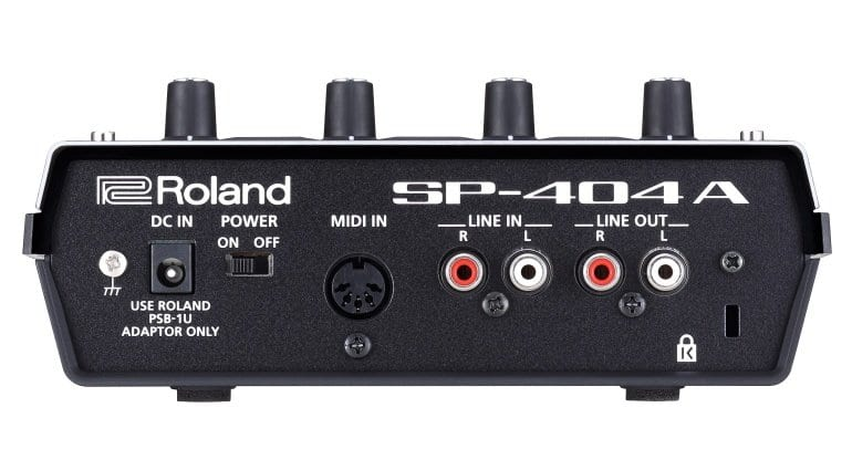 Roland SP-404A - back