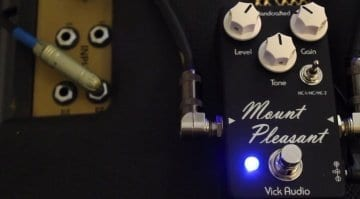 Vick Audio Mount Pleasant overdrive pedal