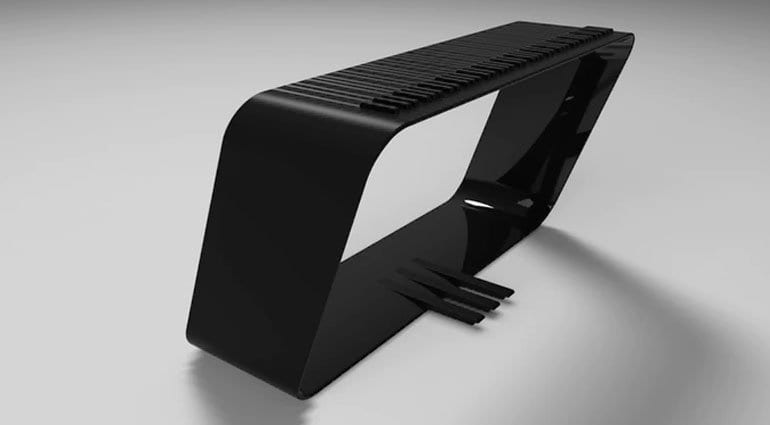 Alpha Pianos mPIANO black