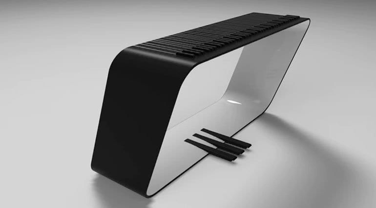 Alpha Pianos mPIANO white