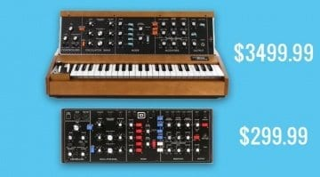 Behringer Model D official price