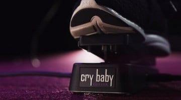 Dunlop Geezer Butler signature wah pedal