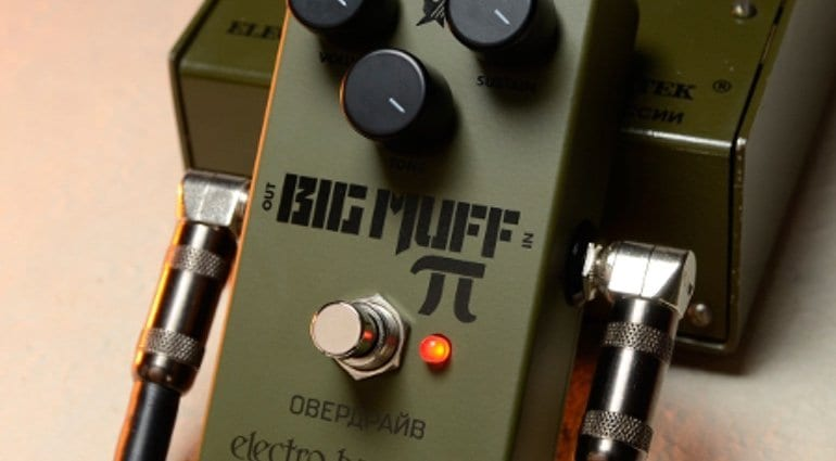 Electro Harmonix relaunches the Green Russian Big Muff Pi