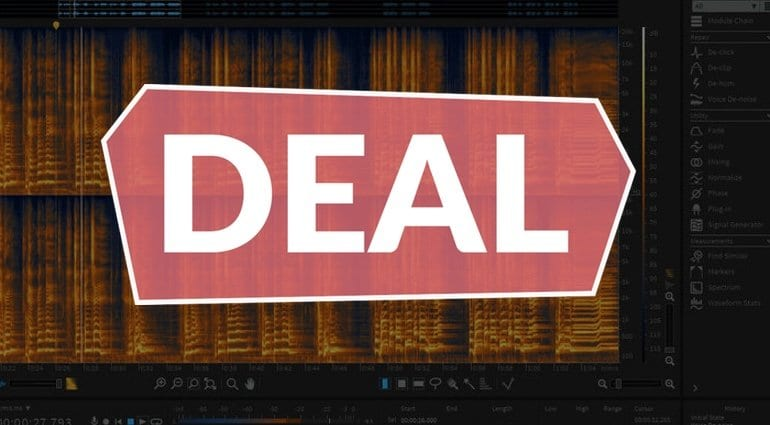 iZotope RX Elements 6 flash sale till 28 August - €29 instead of