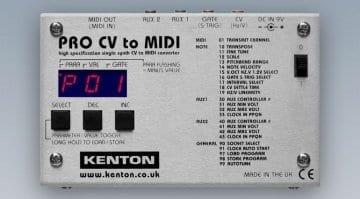 Kenton Pro MIDI to CV