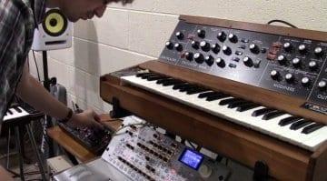 Moog Minimoog Model D vs Behringer moog clone