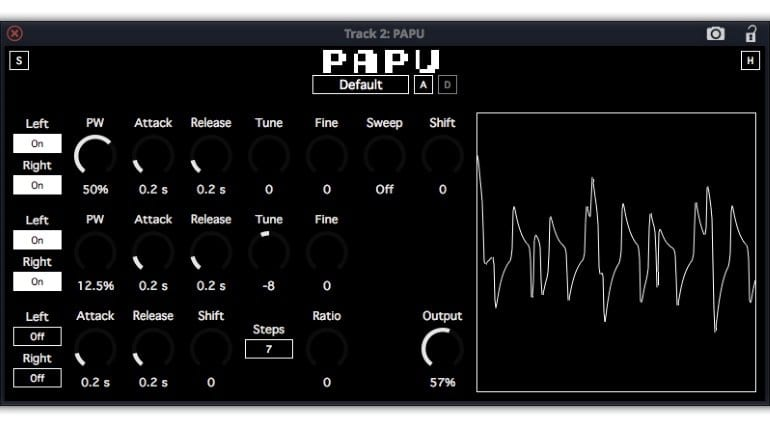 PAPU synth