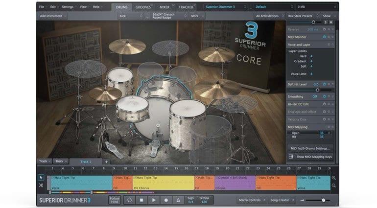 superior drummer wont load samples