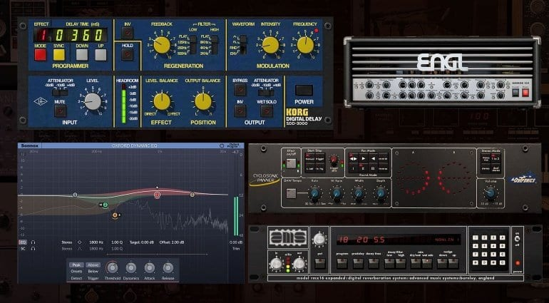 UAD software version 9.3 plug-ins