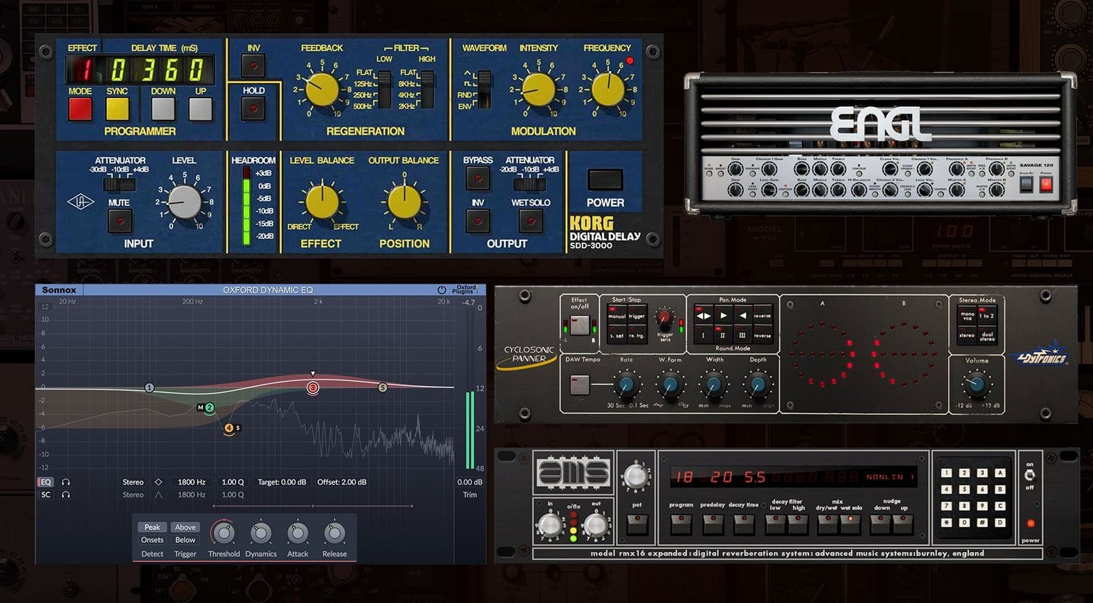 UAD version 9 3 introduces the Korg SDD-3000 delay plus 4