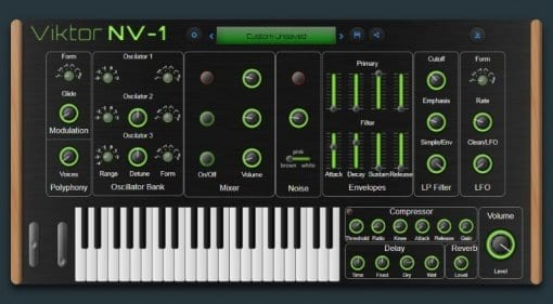 Viktor NV-1 browser synth