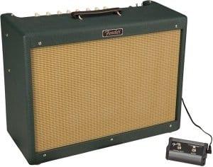 Fender FSR Emerald Wheat Blues Deluxe Reissue