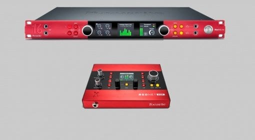 Focusrite Red 16Line and RedNet X2P