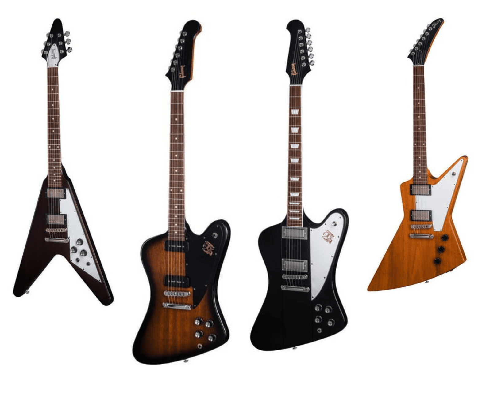 Gibson 2018 Flying V, Firebird and Explorer