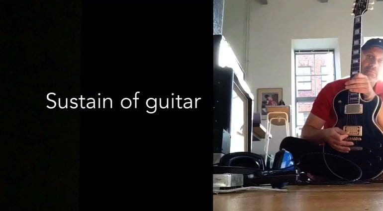 Gibson Les Paul vs a steel beam which has more sustain?