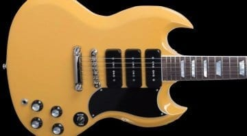 Gibson USA 2018 Gary Clark Jr. Signature SG Gloss Yellow