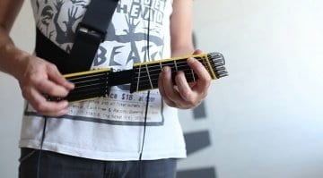 Jammy Portable Digital 'useless' Guitar