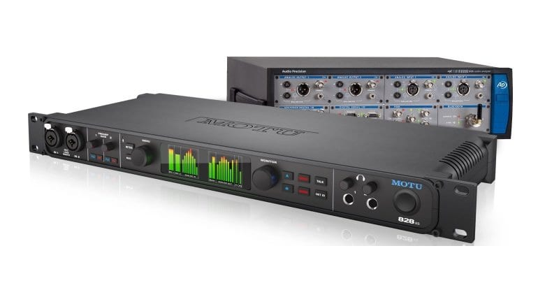 MOTU 828ES professional audio interface with expansion bay