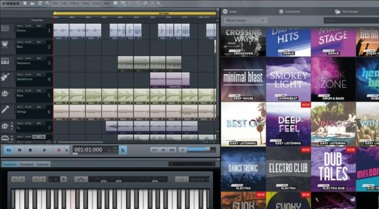 Magix Music Maker featured