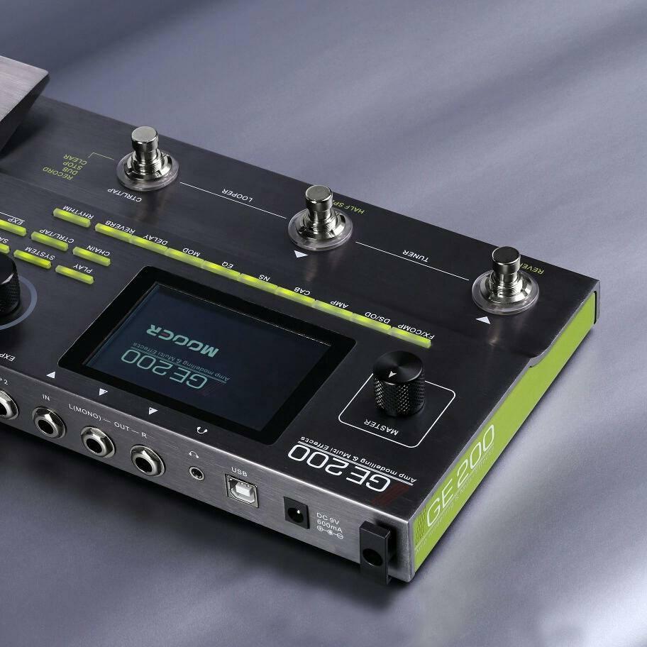 mooer ge200 multi effects pedal boss gt 1 meets line6 helix. Black Bedroom Furniture Sets. Home Design Ideas
