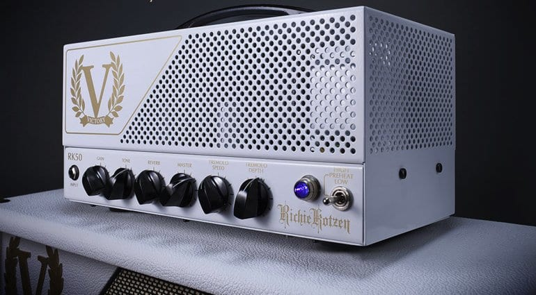 Victory Amps RK50 Richie Kotzen signature lunch box 50 watt amp head