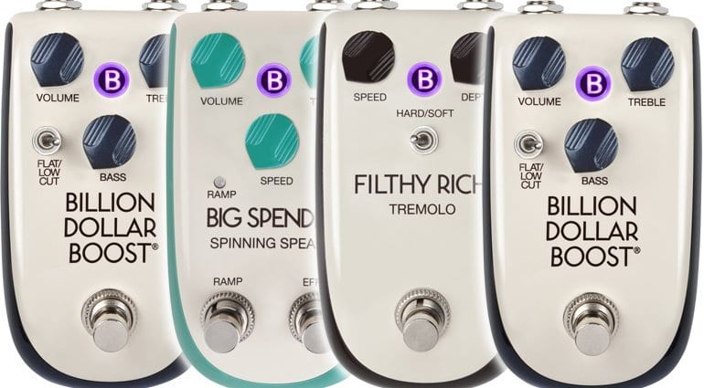 Danelectro Billionaire Series of effects