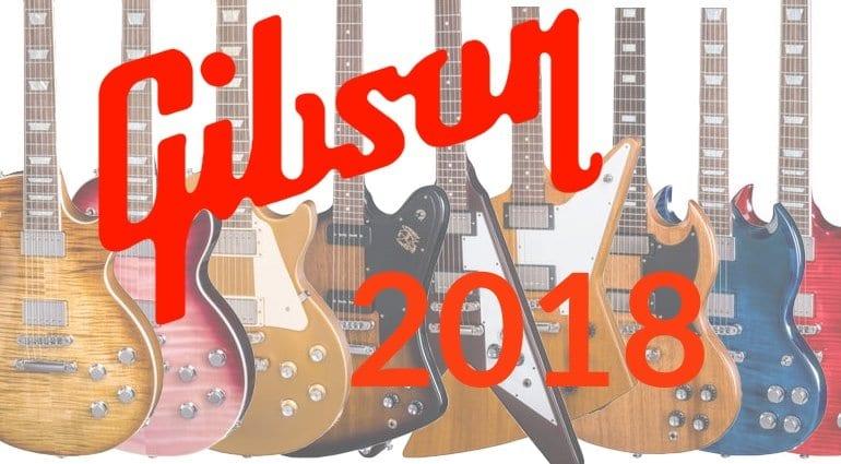 Gibson USA 2018 lineup